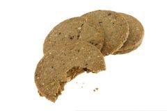 Granos de las galletas Fotografía de archivo libre de regalías