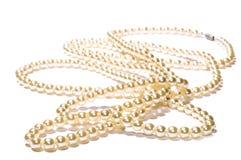 Granos de las perlas Imagenes de archivo