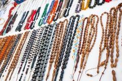 Granos del rosario fotos de archivo