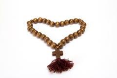 Granos del rosario Fotografía de archivo libre de regalías