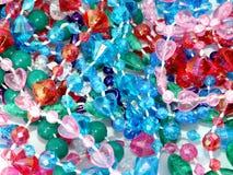 Granos plásticos Fotografía de archivo libre de regalías