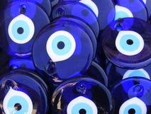 Granos turcos del ojo malvado Imagen de archivo