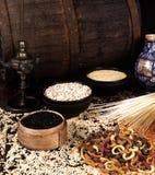 Granos y cereales Imágenes de archivo libres de regalías