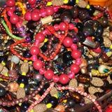 Granos y collares Foto de archivo libre de regalías