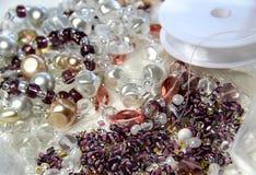 Granos y cristales Fotografía de archivo libre de regalías