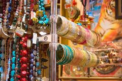 Granos y pulseras Imagen de archivo libre de regalías