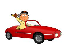 granpa s автомобиля Стоковая Фотография