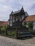 Gransee-Luisendenkmal-bank Arkivfoto
