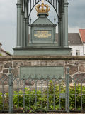 Gransee-Luisendenkmal-detalle Fotografía de archivo libre de regalías