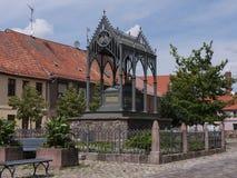 Gransee-Luisendenkmal-Schinkelplatz Imagen de archivo