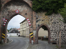 Gransee-Stadtmauer-Tor Stock Photos