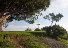 Панорама Вентуры от парка Grant Стоковая Фотография RF