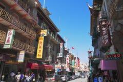 Grant Avenue - Chinatown - San Francisco - California immagini stock libere da diritti