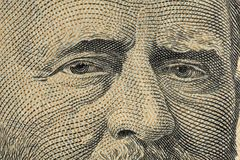 Grant cinqüênta dólares Imagens de Stock