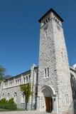 Grant Hall Building na universidade do ` s da rainha - Kingston - Canadá imagem de stock