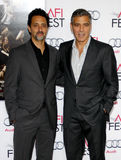 Grant Heslov and George Clooney Royalty Free Stock Image