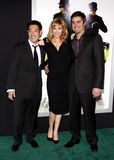 Grant Imahara, Kari Byron and Tory Belleci Royalty Free Stock Photo