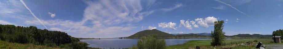 Grant lake, Colorado stock photography