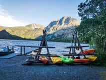 Grant Lake Marina Royalty Free Stock Photography