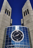 Grant MacEwan college clock towers Royalty Free Stock Photos