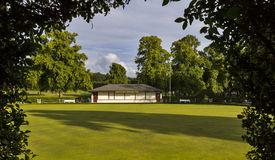 Grant Park Bowling Club , Forres Stock Photography