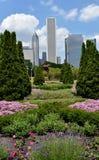 Grant Park Flower Garden Imagens de Stock