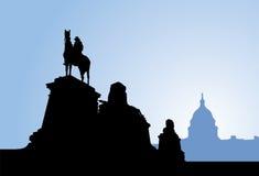 Grant pomnik, Waszyngton Obrazy Royalty Free