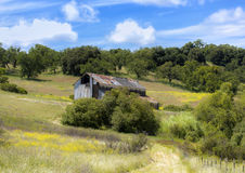 Grant Ranch Barn Royalty Free Stock Photography