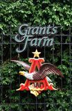 Grant's Farm logo Royalty Free Stock Image