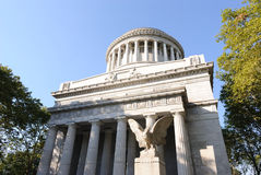 Grant's Tomb. Completed in 1897, Grant's Tomb in New York City is the resting place of Ulysses S. Grant and Julia Dent Grant.  Grant is known for being the Royalty Free Stock Photography
