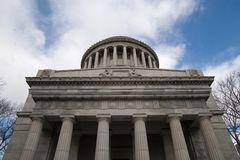 Grant's Tomb. The front of Grant's Tomb in New York City Royalty Free Stock Photos