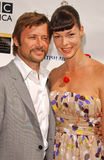 Grant Show. And Pollyanna McIntosh at the 5th Annual BAFTA-LA Tea Party honoring Emmy Nominees. Wattles Mansion, Los Angeles, CA. 09-15-07 Stock Image