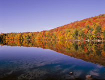 Grant-Teich New-Hampshire Lizenzfreies Stockfoto