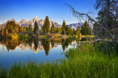 Grant teton national park Stock Photo