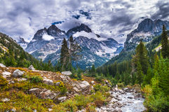 Grant Tetons Lanscape Royalty Free Stock Photos