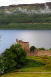 Grant Tower of Urquhart Castle Royalty Free Stock Image