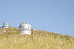 Grantecan in Roque de los Muchachos Observatory in La Palma. Stock Photo