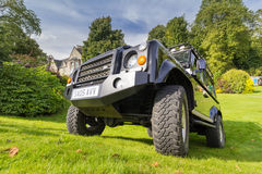 Land Rover Defender Stock Photo