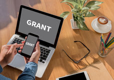 Grants Royalty Free Stock Images