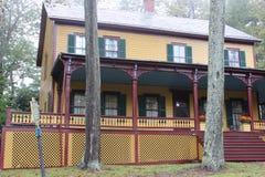 Grants Häuschen, wo Ulysses S.Grant seine letzten Tage verbrachte, 1885, New York Lizenzfreie Stockfotografie