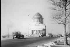 Grants Tomb, New York City, 1930s stock video footage