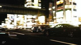Racing in Tokyo stock photos
