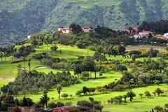 Granu Canaria krajobraz Zdjęcia Royalty Free