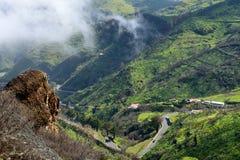 Granu Canaria krajobraz Zdjęcie Stock