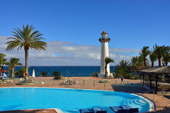 Granu Canaria kurort Obraz Royalty Free