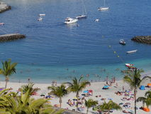 Granu Canaria port Fotografia Stock