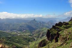 Granu Canaria sceneria, Hiszpania Fotografia Royalty Free