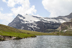 Granu Paradiso góry Zdjęcie Stock
