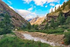Granu paradiso parka narodowego krajobraz obraz stock