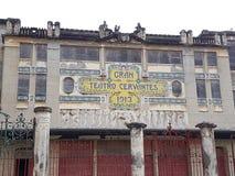 granu teatro Cervantes Obrazy Stock